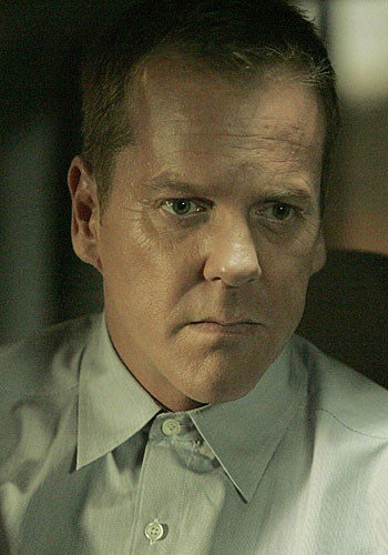 "Kiefer Sutherland won the actor Emmy for his portrayal of Jack Bauer on ""24."""