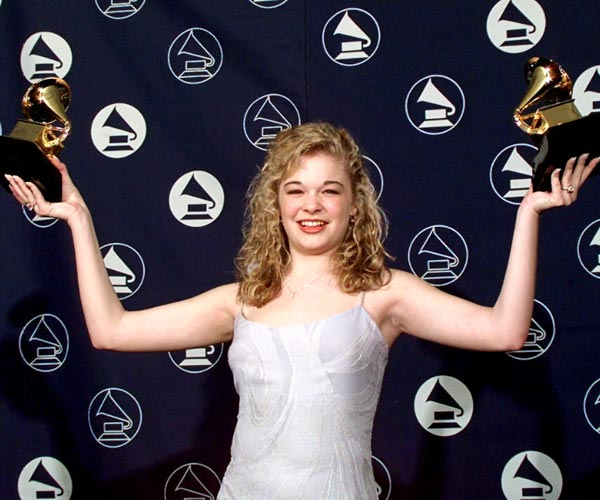 LeAnn Rimes won for best new artist and best female country vocal performance at the 1997 Grammy Awards.